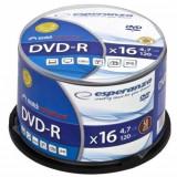 Mediu optic Esperanza DVD-R 4.7GB 16x 50 bucati