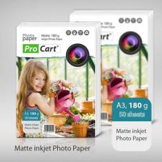 Hartie foto Procart mata 180g A3 - Hartie foto imprimanta