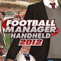Joc consola Sega PSP Football Manager Handheld 2012 - Jocuri PSP Sega, Sporturi, Toate varstele, Single player