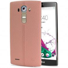 Husa Protectie Spate LG CPR-110 roz pentru LG G4 - Husa Telefon LG, Piele, Carcasa