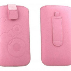 Toc OEM TSSAMGS3ROZ Slim roz pentru Samsung Galaxy S3 I9300 - Husa Telefon Oem, Vinyl