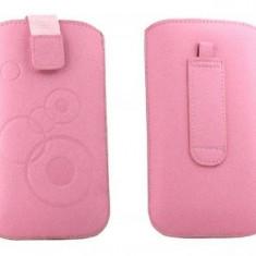 Toc OEM TSSAMGS3ROZ Slim roz pentru Samsung Galaxy S3 I9300 - Husa Telefon