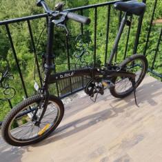 Vand bicicleta pliabila, 18 inch, 16 inch, Numar viteze: 1