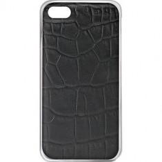 Husa Protectie Spate Celly CROCOCIPH6PBK Crocodile neagra pentru Apple iPhone 6 Plus - Husa Telefon Celly, Piele Ecologica, Carcasa