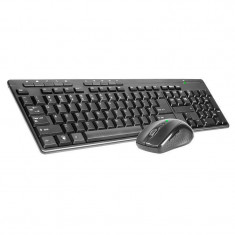 Kit tastatura si mouse Tracer BlackJack USB Black