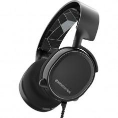 Casti gaming SteelSeries Arctis 3 Black