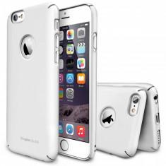 Husa Protectie Spate Ringke Slim White Logo Cut plus folie protectie pentru Apple iPhone 6 - Husa Telefon Ringke, iPhone 6 Plus