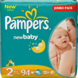 Scutece PAMPERS New Baby 2 Mini Jumbo Pack 94 buc