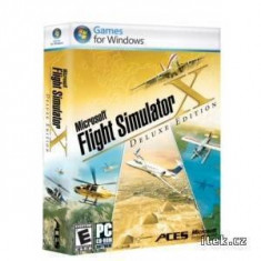 Joc PC Microsoft Flight Simulator X Deluxe - Jocuri PC Microsoft Game Studios, Simulatoare, Toate varstele, Single player