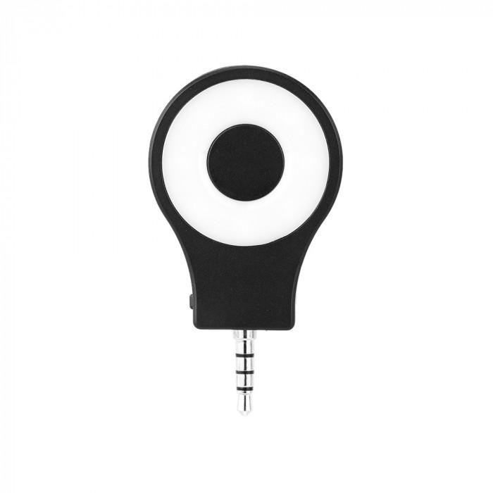 Tolifo HF0801 Lampa foto-video circulara 8 LED-uri SMD CRI 95 pentru smartphone
