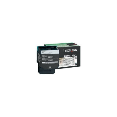 Toner Lexmark C544X1KG Black Return foto