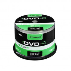 Mediu optic Intenso DVD-R 4.7 GB 16x 50 bucati - DVD Blank