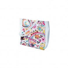 Geanta laptop Tellur Owl 15 inch, Piele sintetica, Multicolor