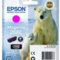 Consumabil Epson Consumabil cartus cerneala Magenta 26XL Claria Premium Ink - Cartus imprimanta