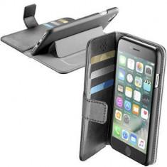 Husa Flip Cover Cellularline BOOKAGENDAIPH747K Agenda Negru pentru Apple iPhone 7 - Husa Telefon