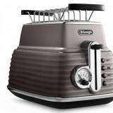 Prajitor de paine Delonghi CTZ 2103.BG Scultura 900W bej, 4 felii