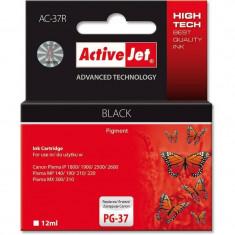 Consumabil ActiveJet Cartus compatibil PG-37 Black Canon - Cartus imprimanta