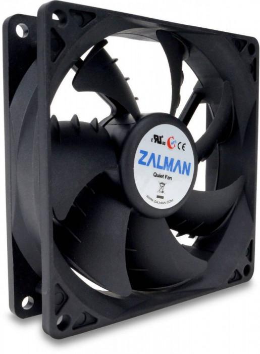 Ventilator Zalman ZM-F2 PLUS(SF) 92mm Shark Fin fan foto mare