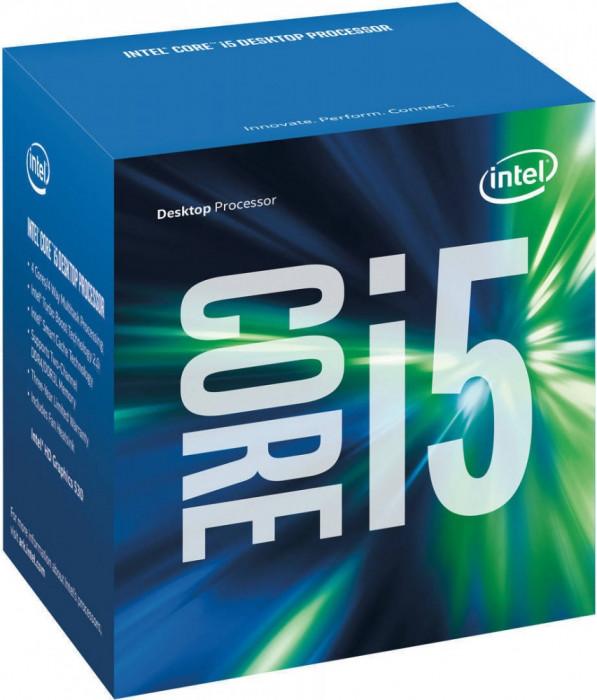 Procesor Intel Core i5-6500 Quad Core 3.2 GHz Socket 1151 Box foto mare