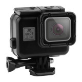 Carcasa waterproof cu touch backdoor 30m compatibila GoPro Hero 5 Black Hero 6 Black GP377A