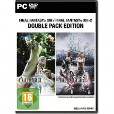 Joc PC Square Enix FINAL FANTASY XIII & FINAL FANTASY XIII-2 DOUBLE PACK - Jocuri PC Square Enix, Role playing, 16+, Single player