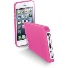 Husa Protectie Spate Cellularline Roz pentru Apple iPhone 5s, iPhone SE - Husa Telefon CellularLine, iPhone 5/5S/SE