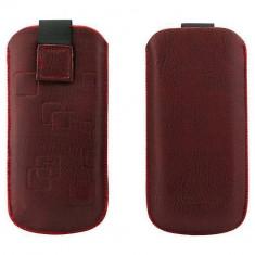 Toc OEM TSNOKE52ROS Slim rosu pentru Nokia E52 / X1-00 / 100 - Husa Telefon Oem, Vinyl