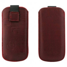 Toc OEM TSNOKE52ROS Slim rosu pentru Nokia E52 / X1-00 / 100 - Husa Telefon