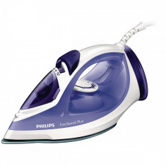 Fier de calcat Philips GC2048/30 EasySpeed 2300W alb / mov, Ceramica, 270 ml