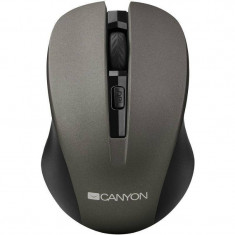 Mouse Canyon CNE-CMSW1G Gray, USB, Optica