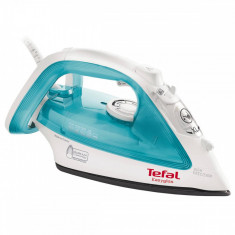 Fier de calcat Tefal Easygliss FV3910 2200W alb / turcoaz, Durilium, 270 ml