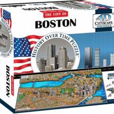 Puzzle 4D Cityscape Boston