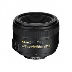 Obiectiv Nikon AF-S Nikkor 50mm f/1.4G - Obiectiv DSLR