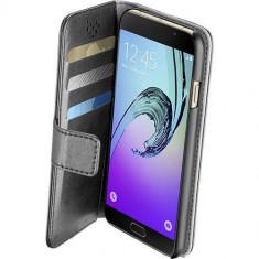 Husa Flip Cover Cellularline BOOKAGGALA716K Agenda Negru pentru Samsung Galaxy A7 2016 - Husa Telefon