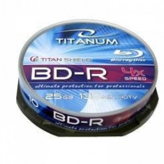 BluRay BD-R Titanum Esperanza 25 GB 10 bucati - CD Blank