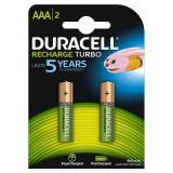 Acumulator Duracell AAAK2 800mAh 2buc Verde - Baterie Aparat foto Duracell, Tip AAA (R3)