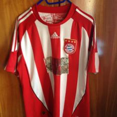 Tricou Adidas original-Bayern Munchen-Robben nr.10. - Tricou barbati Adidas, Marime: L, Culoare: Rosu, Maneca scurta, Poliester