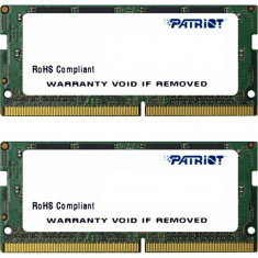 Memorie laptop Patriot Signature 32GB DDR4 2133 MHz CL15 Dual Channel Kit - Memorie RAM laptop