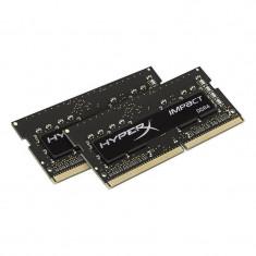Memorie laptop HyperX Impact Black 8GB DDR4 2133 MHz CL13 Dual Channel Kit - Memorie RAM laptop Kingston