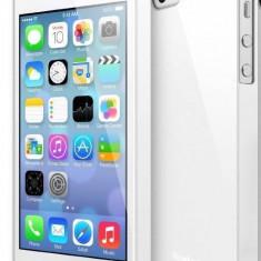 Husa Protectie Spate Ringke Slim White plus folie protectie pentru Apple iPhone 5 / 5S