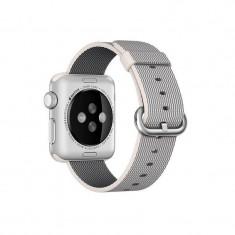 Curea smartwatch Apple Watch 38mm Pearl Woven Nylon