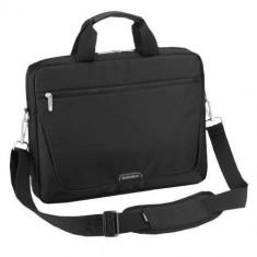 Geanta laptop Sumdex PON-111 15.6 inch black, Nailon, Negru
