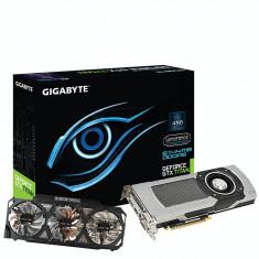 Placa video Generic PlaGigabyte NVIDIA GeForce GTX TITAN OC, 6144MB, GDDR5, 384bit - Placa video PC Gigabyte, PCI Express, 6 GB