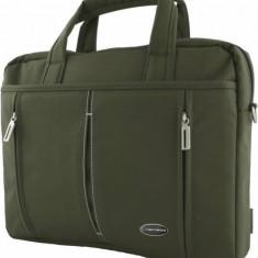 Geanta laptop Esperanza Torino 15.6 inch Oliv