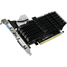 Placa video Gigabyte nVidia GeForce GT 710 Silent 2GB DDR3 64bit low profile - Placa video PC Gigabyte, PCI Express
