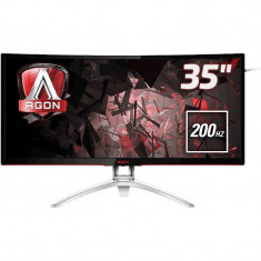 Monitor LED Gaming Curbat AOC AG352QCX 35 inch 4ms Black, Mai mare de 27 inch