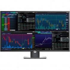 Monitor LED Dell P4317Q 43 inch 8ms Black Silver, Mai mare de 27 inch, HDMI, 3840 x 2160