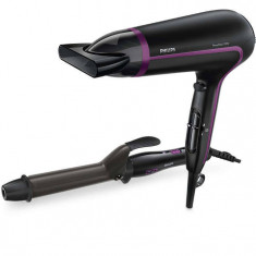 Uscator de Par Philips HP8641/00 Dryer and Curler Gift Set Limited Edition, 2100W