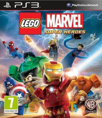 Joc consola Warner Bros Lego Marvel Super Heroes Essentials PS3 foto