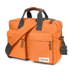 Geanta laptop Eastpak EK02370H Lifelike 15 inch portocalie, Nailon, Portocaliu